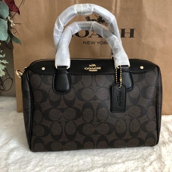 2e7db0364256 Coach Handbags - Coach Signature Mini Bennett Crossbody Satchel